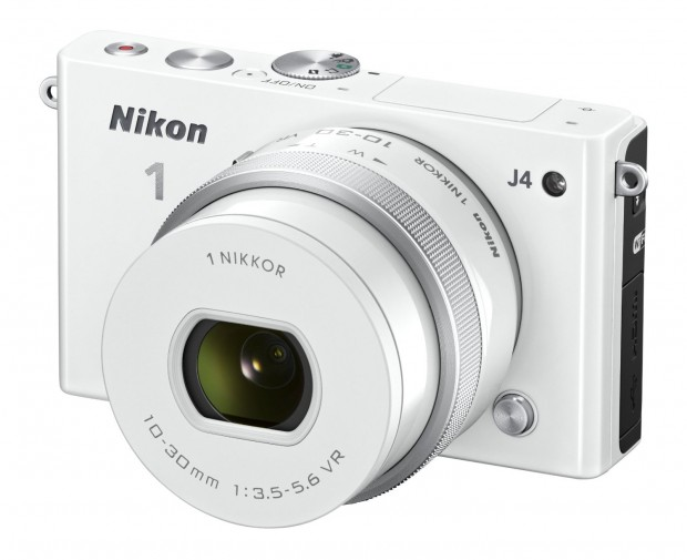 Nikon 1 J4 Mirrorless  Digital Camera w10-30mm Lens