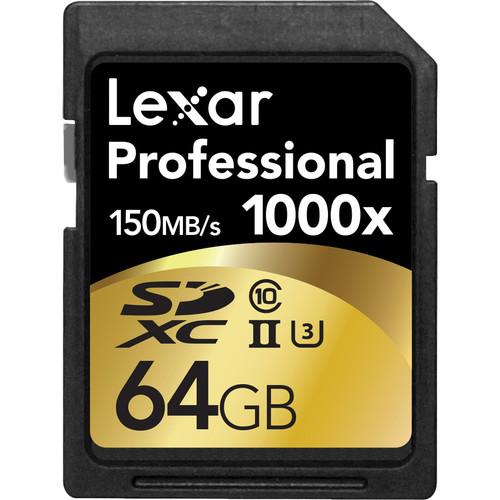 Lexar 64GB card