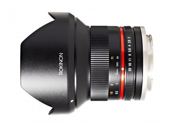 Rokinon 12mm f2 lens