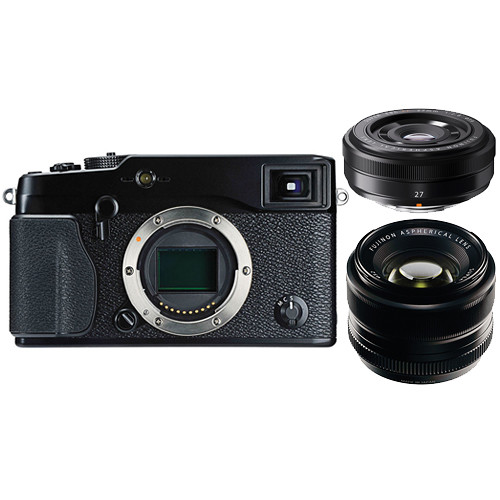 Hot Deal: Fujifilm X-Pro1 with 35mm and 27mm Lenses Kit for $949