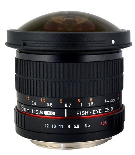 Hot Deal: Rokinon 8mm F/3.5 HD UMC Fisheye Lens for $189