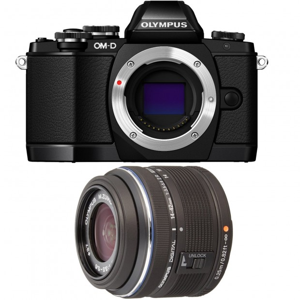 Hot Deal: Olympus OM-D E-M10 w/ 14-42 II R Lens for $399