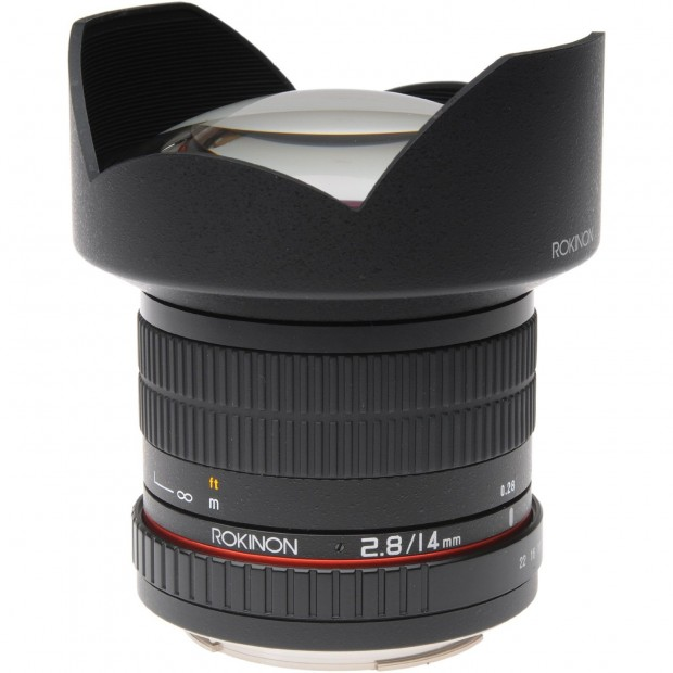 Hot Deal: Rokinon 14mm F2.8 Lens for Canon/ Sony E / Pentax/ M43 for $279