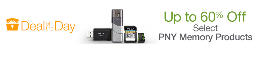 Hot Deals: Up to 60% OFF on PNY Memory Products