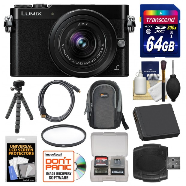 Hot Deal: $400 OFF on Panasonic GM5 w/12-32mm Lens Kit