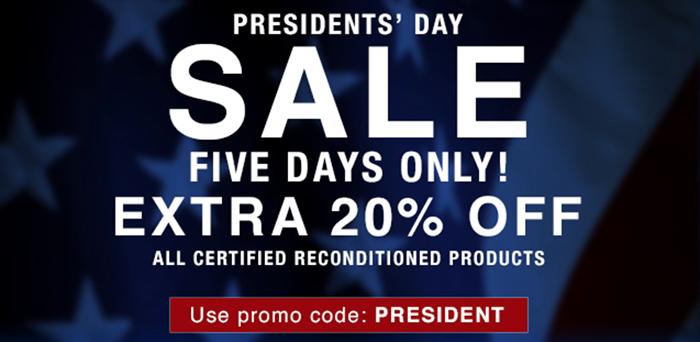 Olympus president day deals