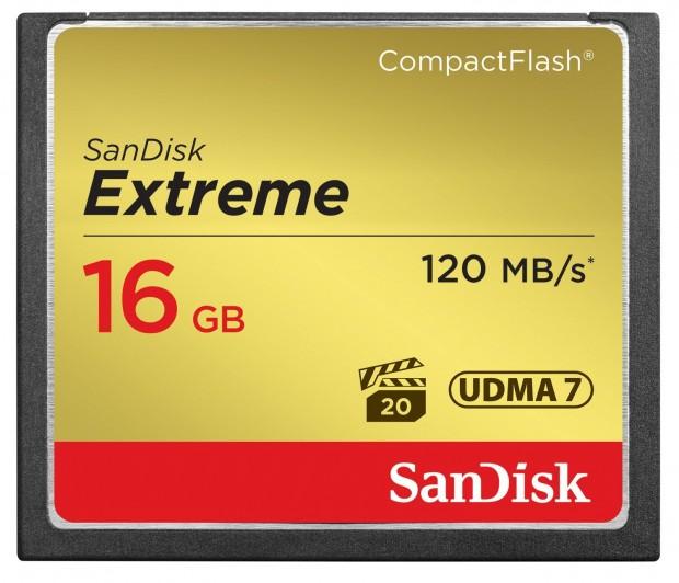 SanDisk Extreme 16GB CompactFlash Memory Card