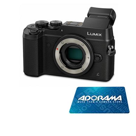 Hot Deal: $200 Off and $100 Free Card on Panasonic GX8 at Adorama