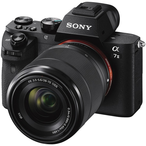Sony A7 II with 28-70mm lens