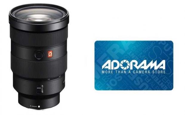Sony FE 24-70mm GM lens