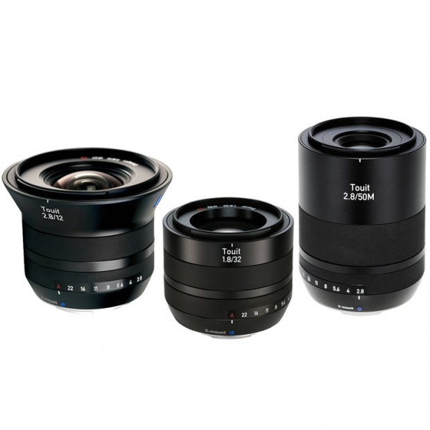 zeiss Touit 12 32 50mm lenses for fujifilm x
