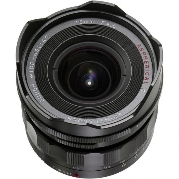 Voigtlander 15mm F4.5 AsPH III lens for Sony E