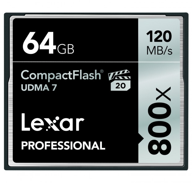 <span style='color:#dd3333;'>Hot Deal: Lexar Professional 800x 64GB CF Card for $29.95</span>