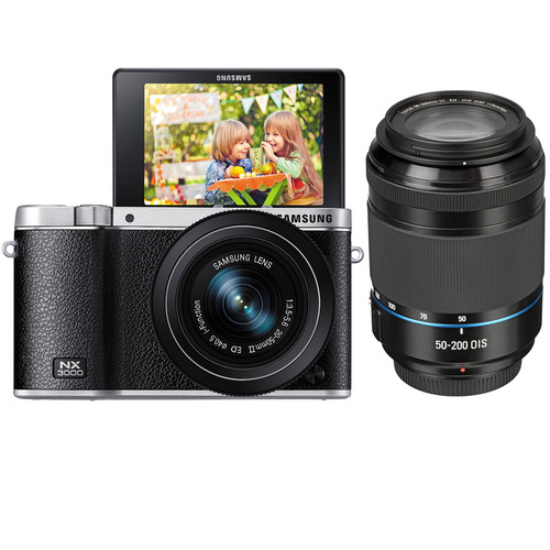 Samsung NX3000 with lenses kit deal
