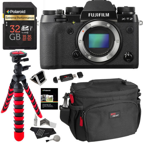 <span style='color:#dd3333;'>Hot Deal: Fujifilm X-T2 + Polaroid 32GB Memory Card Kit Bundle for $1,599</span>