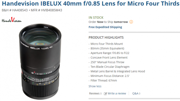 handevision-ibelux-40mm-f0-85-lens-for-micro-four-thirds