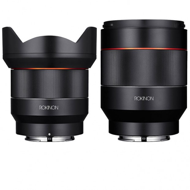 Rokinon AF 14mm f2.8 and 50mm f1.4 FE Lenses Kit