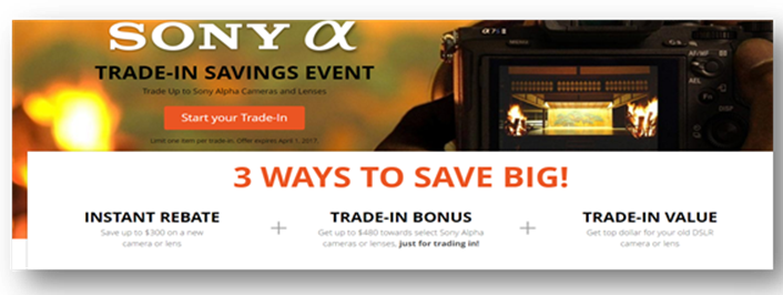 Hot Deals: Now Live! 3 WAYS TO SAVE BIG on Sony
