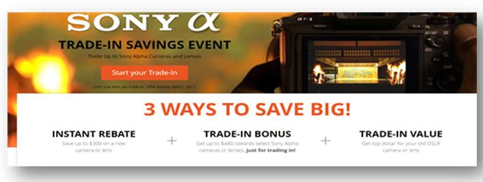 Sony B&H deals
