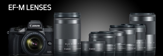 Hot Deals: 10% off on Refurbished Canon EF-M Lenses