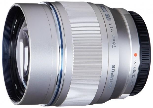 Olympus ED 75mm F1.8 lens