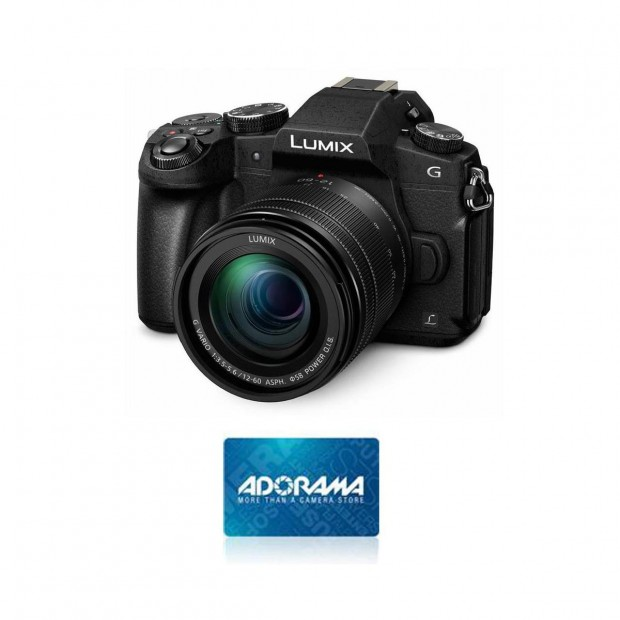 Hot Deal: $100 Off and $100 Free Card on Panasonic DMC-G85 Camera w/12-60mm F/3.5-5.6 G Lens at Adorama