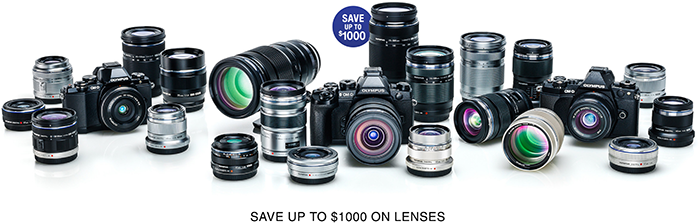 Hot Deals: SAVE UP TO $1,000 ON OLYMPUS LENSES