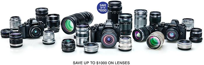 Olympus MFT lens deals