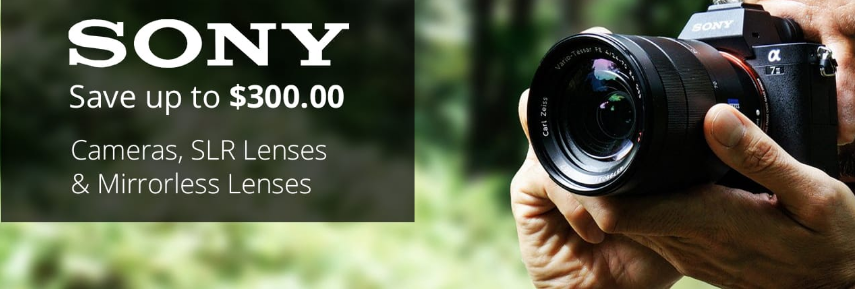 <span style='color:#dd3333;'>Hot Deals: Up to $300 Off and $355 Free Extras on Sony A7 Series</span>