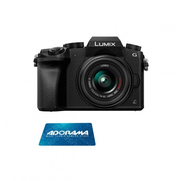 <span style='color:#dd3333;'>Hot Deal: $200 Off w/$150 Gift Card on Panasonic Lumix DMC-G7 with 14-42mm Lens</span>