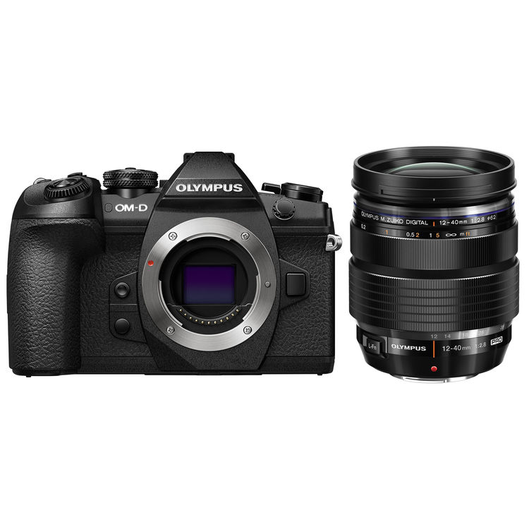 Olympus E-M10 Mark III OM-D System Camera with mm EZ Lens - Case and SD Card.