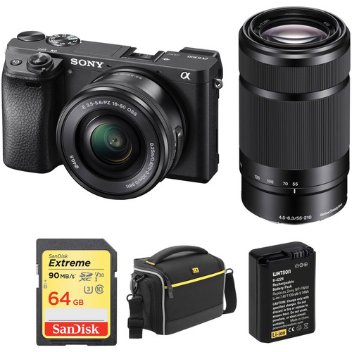 Hot Deal: Up to $350 Off on Sony A6300/A6500 Bundle at B&H