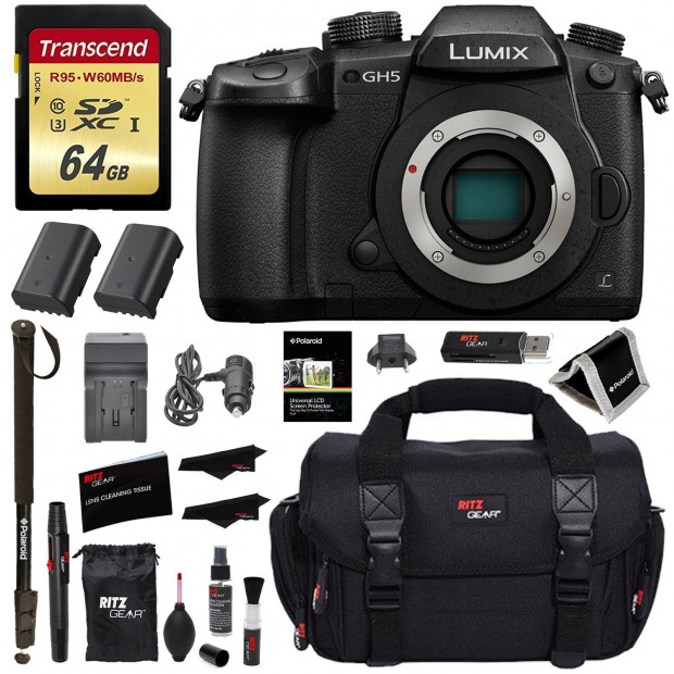 <span style='color:#dd3333;'>Hot Deal: $200 Off on the Panasonic GH5 Kit Bundle</span>