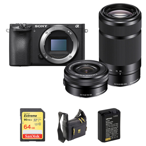 Sony A6500 bundle deal