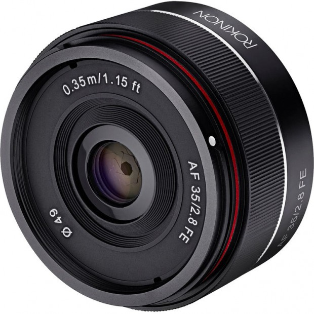 Hot Deal: Rokinon AF 35mm f/2.8 FE Lens for $259
