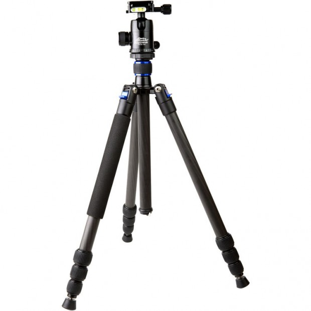 Hot DeaL: Davis & Sanford Traverse Carbon Fiber Grounder Tripod with Head for $99.99