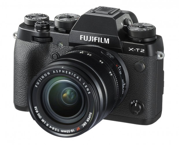 Hot Deal: Fujifilm X-T2 w/18-55mm F2.8-4.0 R LM OIS Lens for $1,865.59