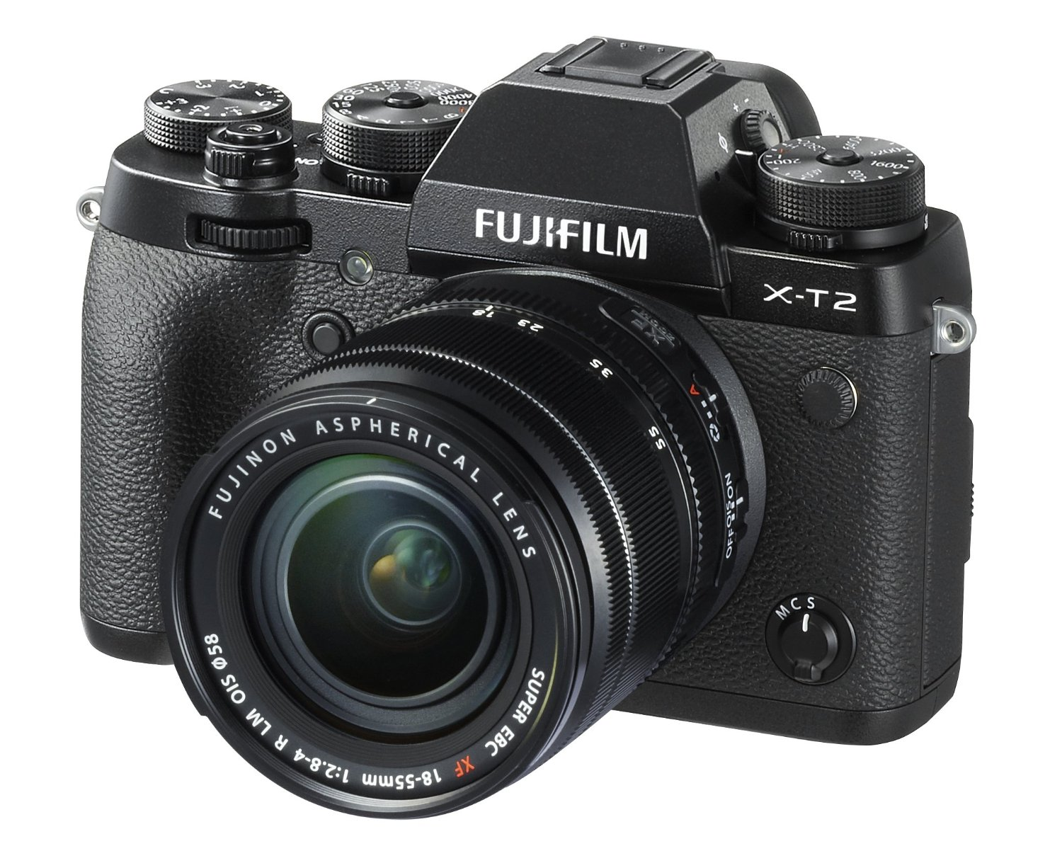 Fujifilm X-T2 with 18-55mm lens deal