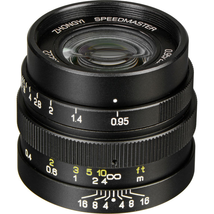 Hot Deal: Mitakon Zhongyi Speedmaster 25mm f/0.95 Lens for $289