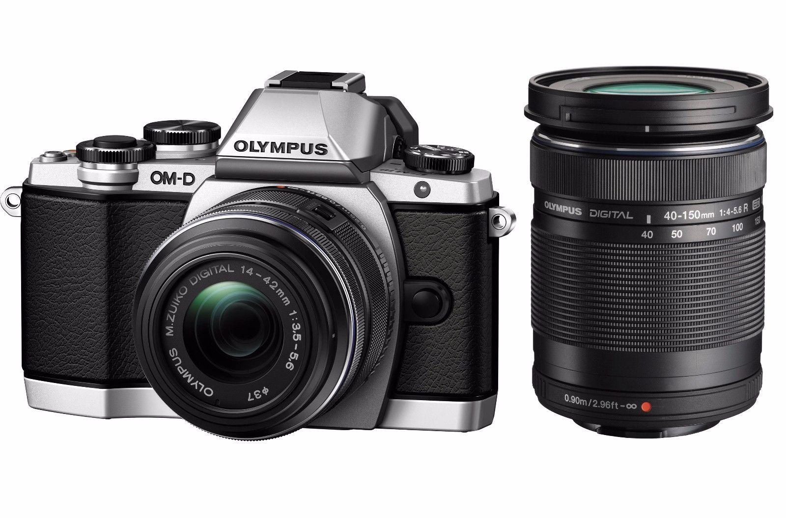Hot Deal: Olympus E-M10 Kit w/ 14-42mm & 40-150mm Lens for $449.95