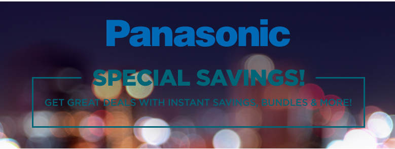 Panasonic Camera deals