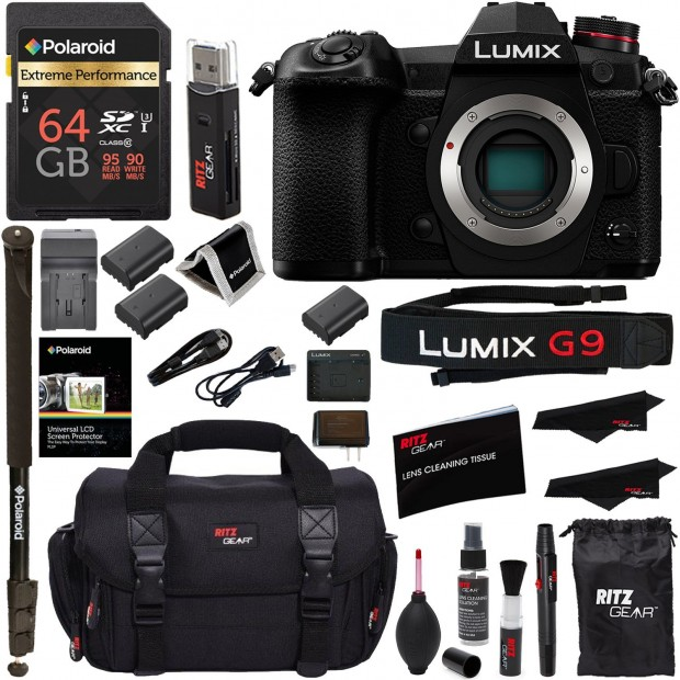 Hot Deal: Panasonic G9 with Lots of Free Extras at Amazon