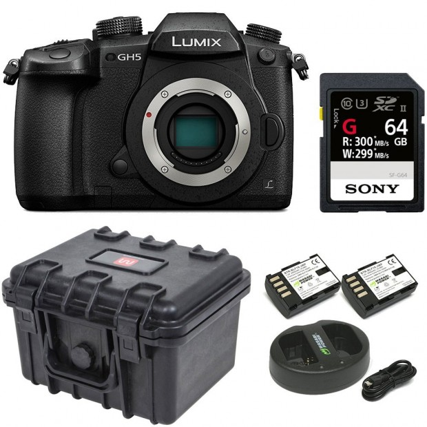 Hot Deal: $200 off & Lots of Free Extras with Panasonic GH5