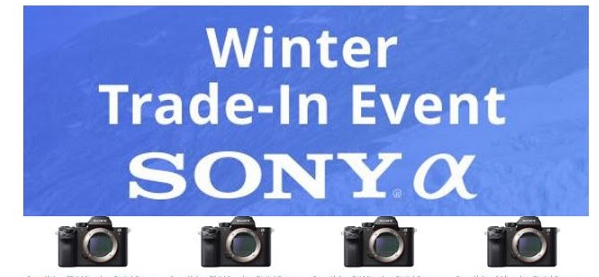 Hot Deals: Sony Winter Trade In, And New Sony Deals – Save Up to $900