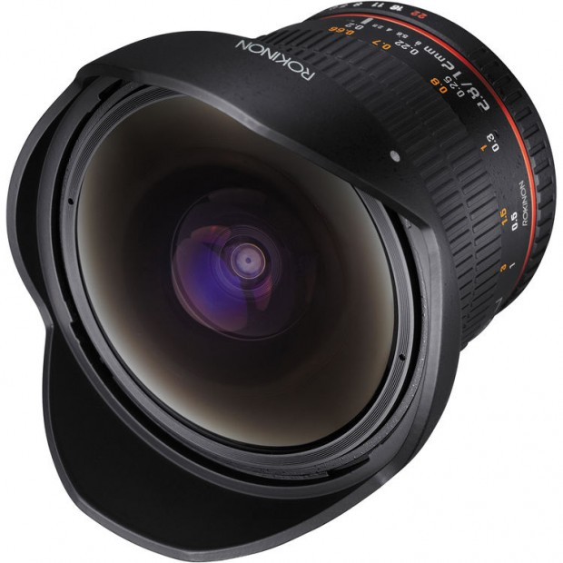 Rokinon 12mm f/2.8 ED AS IF NCS UMC Fisheye Lens for $339!