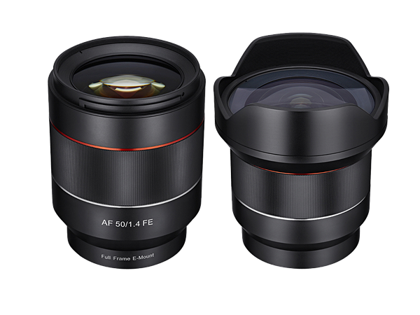 rokinon-50mm-f-1.4-fe-14mm-f-2.8-fe-af-lenses