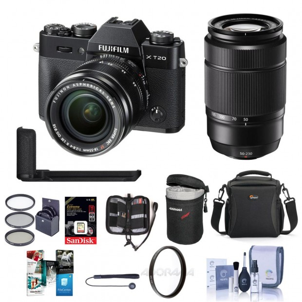 Hot Deal: $428 Off on Fujifilm X-T20 and XC Lenses and Accessories Bundle Deal