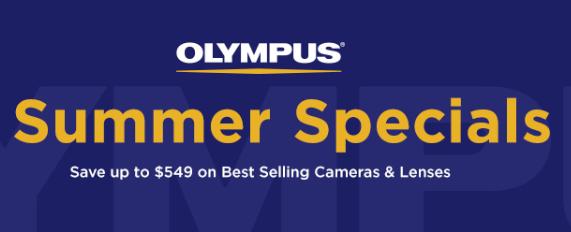 Olympus deals