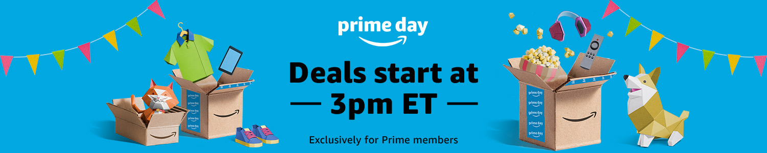 "2018 Amazon ""Prime Day"" Deals"