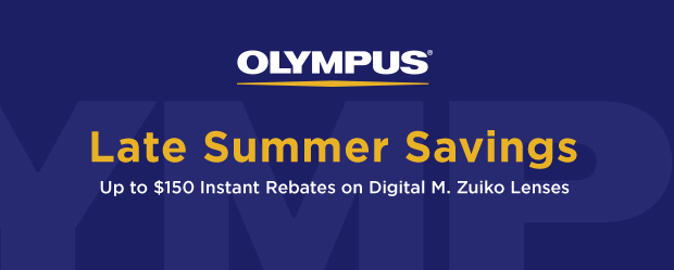Hot Deals: Up to $150 Savings on Olympus Lenses